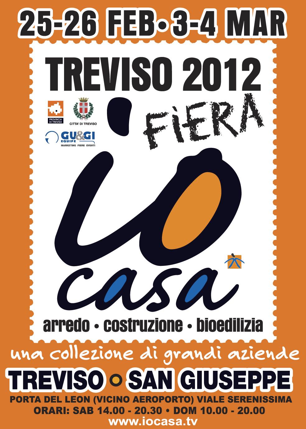 MANIFESTO FIERA IO CASA TREVISO 2012